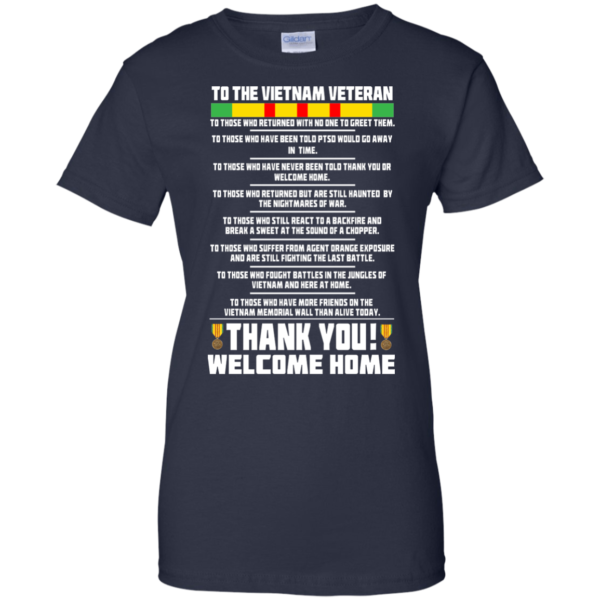 To The Vietnam Veteran – Thank You Shirt