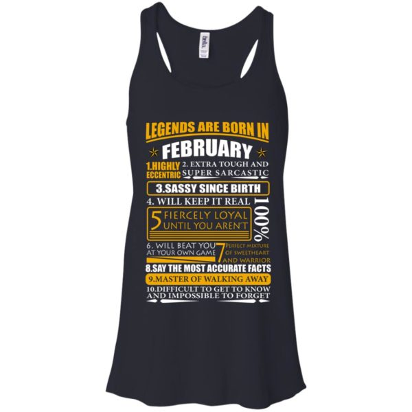 Legends Are Born In February – Highly Eccentric Shirt