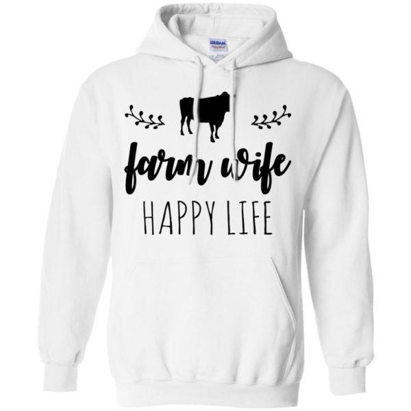 Cow – Farm Wife Happy Life Shirt, Hoodie