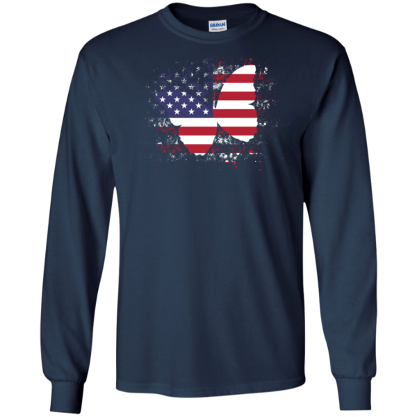 Butterfly America Flag Shirt, Hoodie, Tank
