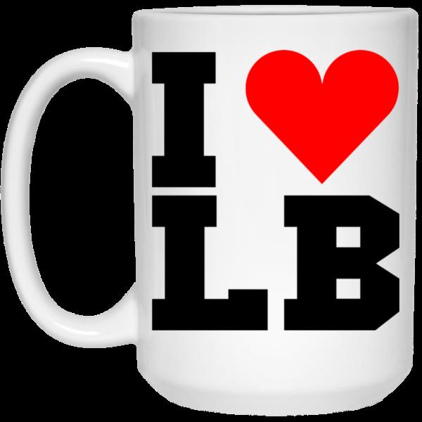 I Love LB Mugs
