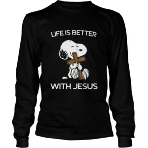 Snoopy – Life Is Better With Jesus Shirt