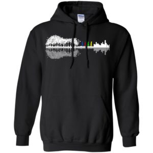 Guitar Forest To City - The Beatles Shirt