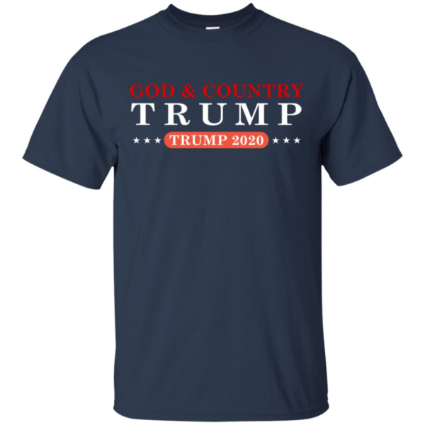 God And Country Trump 2020 Shirt