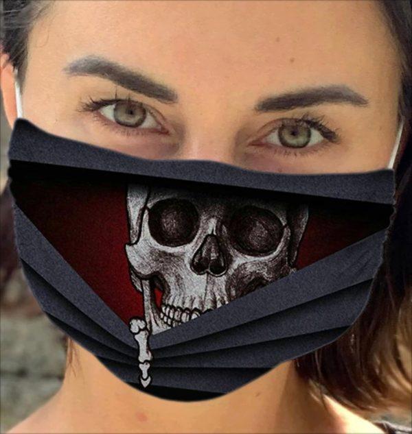 Amazing Skull Cloth Face Mask