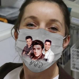 Elvis Presley Signature Cloth Face Mask
