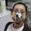 Funny Horse Face Cloth Face Mask