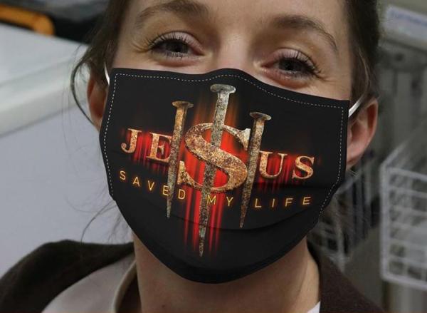 Jesus Save My Life Cloth Face Mask
