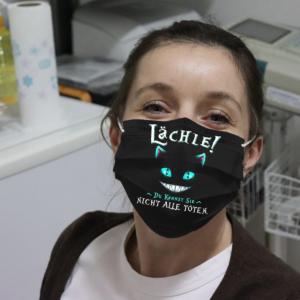 Lachle Du Kannst Sie Night Alle Toten Cloth Face Mask