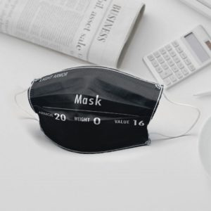 Light Armor Cloth Face Mask