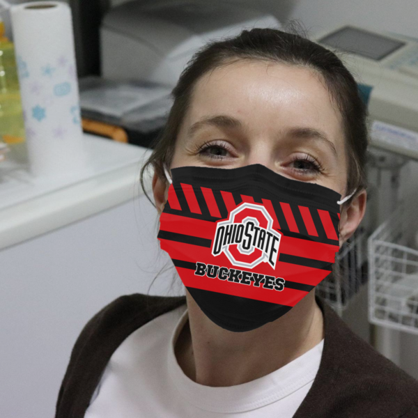 Ohio State Buckeyes Cloth Face Mask
