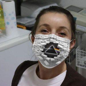 Pink Floyd Wall Broken Cloth Face Mask