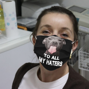 Pitbull - To All My Haters Cloth Face Mask