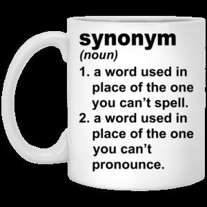 Synonym Mugs