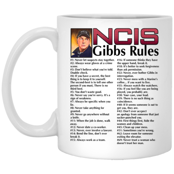 NICS Gibbs Rules Mugs