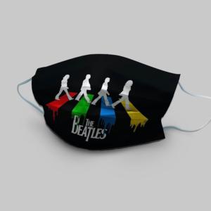 The Beatles Walking Across Abbey Road Cloth Face Mask
