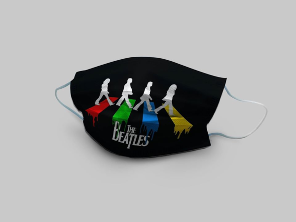 The Beatles Walking Across Abbey Road Cloth Face Mask