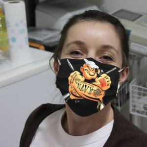 US Navy Popeye Cloth Face Mask