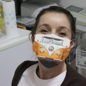 Volkswagen Camper Cloth Face Mask
