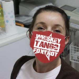 Whiskey Tango Foxtrot Cloth Face Mask