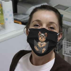 Yorkshire Terrier Dogs Cloth Face Mask