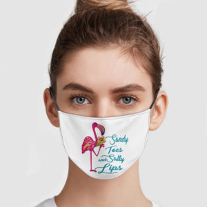 Flamingo – Sandy Toes And Salty Lips Face Mask