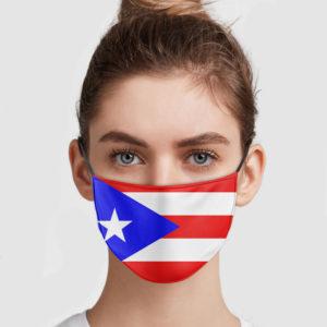 Fuerto Rico Flag Face Mask