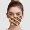 Maryland Flag Pattern Face Mask
