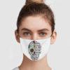 Sugar Skull – I Am The Storm Face Mask