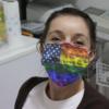 American Flag Smoke Color Cloth Face Mask