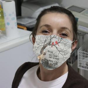 BullDog - Those We Love Don't Go Away Cloth Face Mask