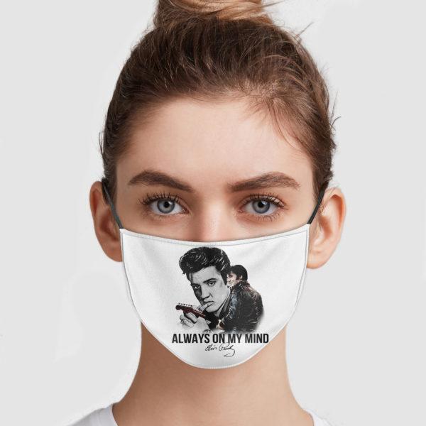 Elvis Presley - Always On My Mind Face Mask