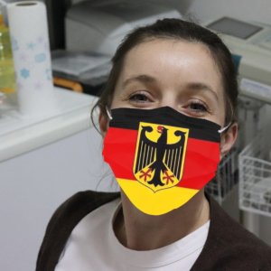 Germany Flag Cloth Face Mask