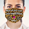 Leopard – Hey All You Cool Cats And Kittens Face Mask
