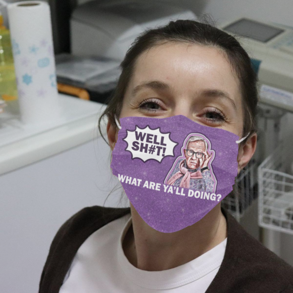 Leslie Jordan - Well Shit What Are Ya'll Doing Cloth Face Mask
