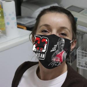 Michael Jordan - The Last Dance Cloth Face Mask