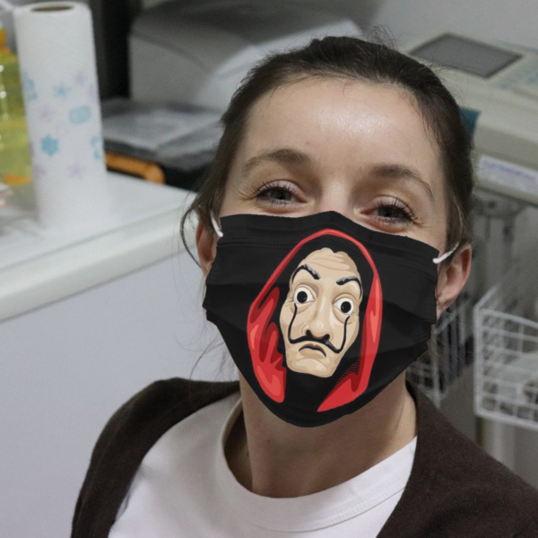 Money Heist Face Cloth Face Mask
