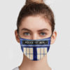 Police Public Call Box Face Mask