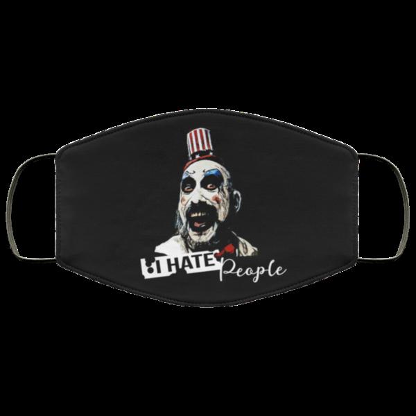 Captain Spaulding – I Hate People Face Mask