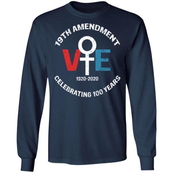 19th Amendment Vote Celebrating 100 Years Shirt