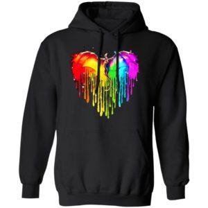 Dragon Color Heart Shirt