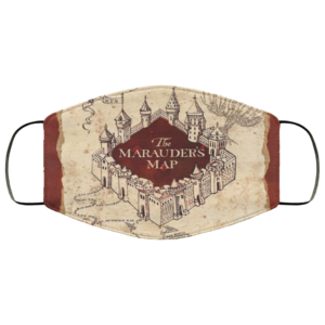 Harry Potter Marauders Map Face Mask