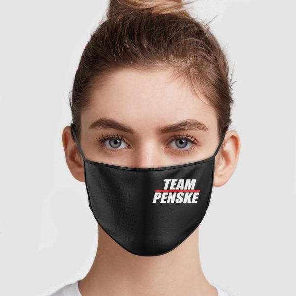 Ryan Blaney Team Penske Nascar Face Mask