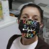 School Nurse Cloth Face Mask