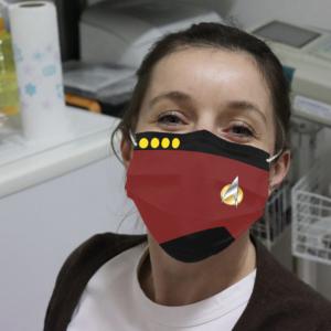 Star Trek Cloth Face Mask