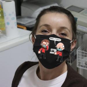 Star Trek - Make It Sew Cloth Face Mask