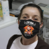 Stay Home And Listen To Queen Cloth Face Mask