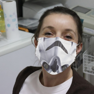 Stormtrooper Face Cloth Face Mask