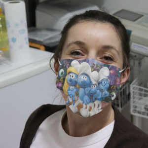 The Smurfs Cloth Face Mask