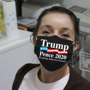 Trump Pence 2020 - Keeping America Great Cloth Face Mask